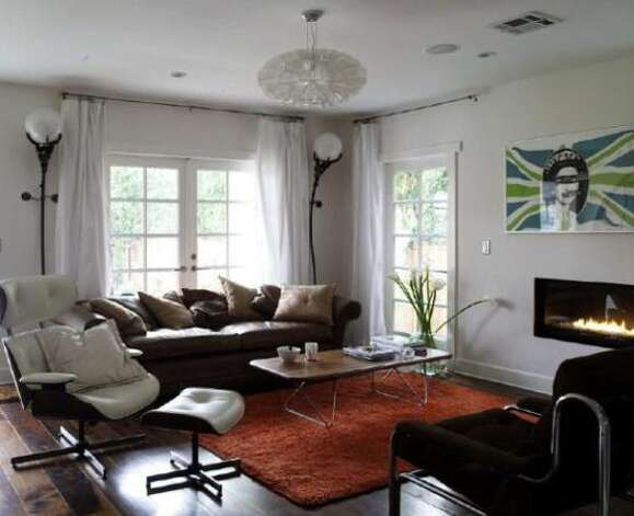 Living area is now bright and full of natural light  (Courtesy of Angie Hill/ AOL Real Estate)