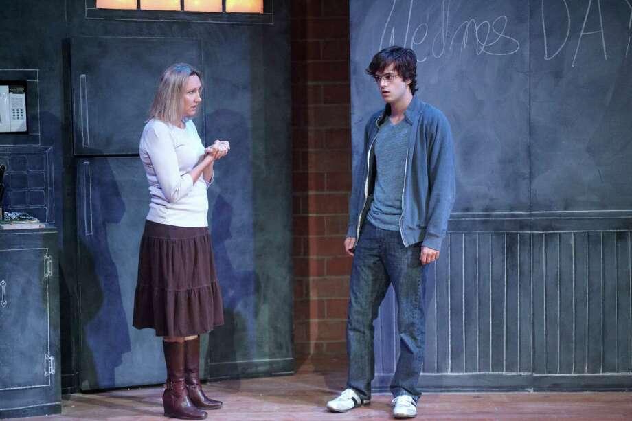 "Kim Tobin and Matt Lents star in ""Body Awareness"" at Stark Naked Theatre Company. Photo: Gabriella Nissen Photography / Gabriella Nissen Photography"