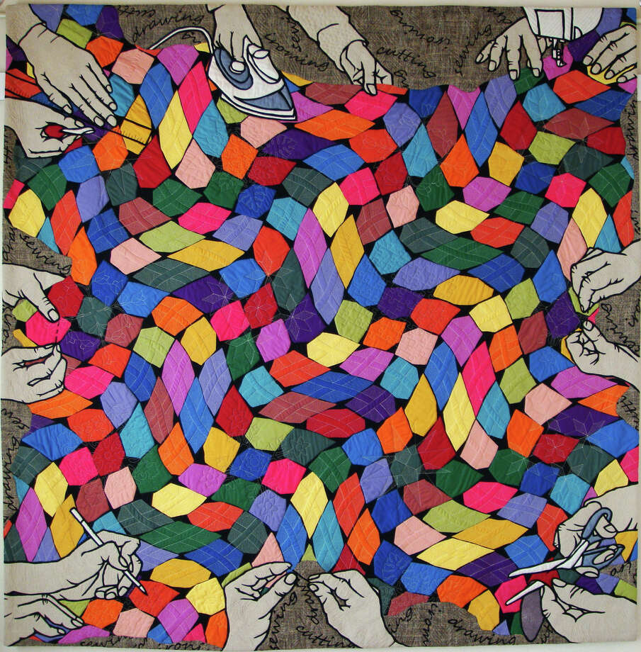 """""""Viva Quilt"""" by Noriko Nozawa is part of a special exhibit at Houston's International Quilt Festival. Photo: --"""