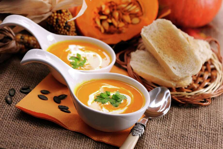 Creamy pumpkin soup. Photo: IStockphoto