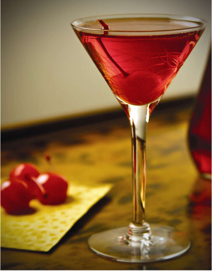 The Shirley Templeton is a twist on a non-alcoholic drink made with Templeton Rye whiskey from Iowa.