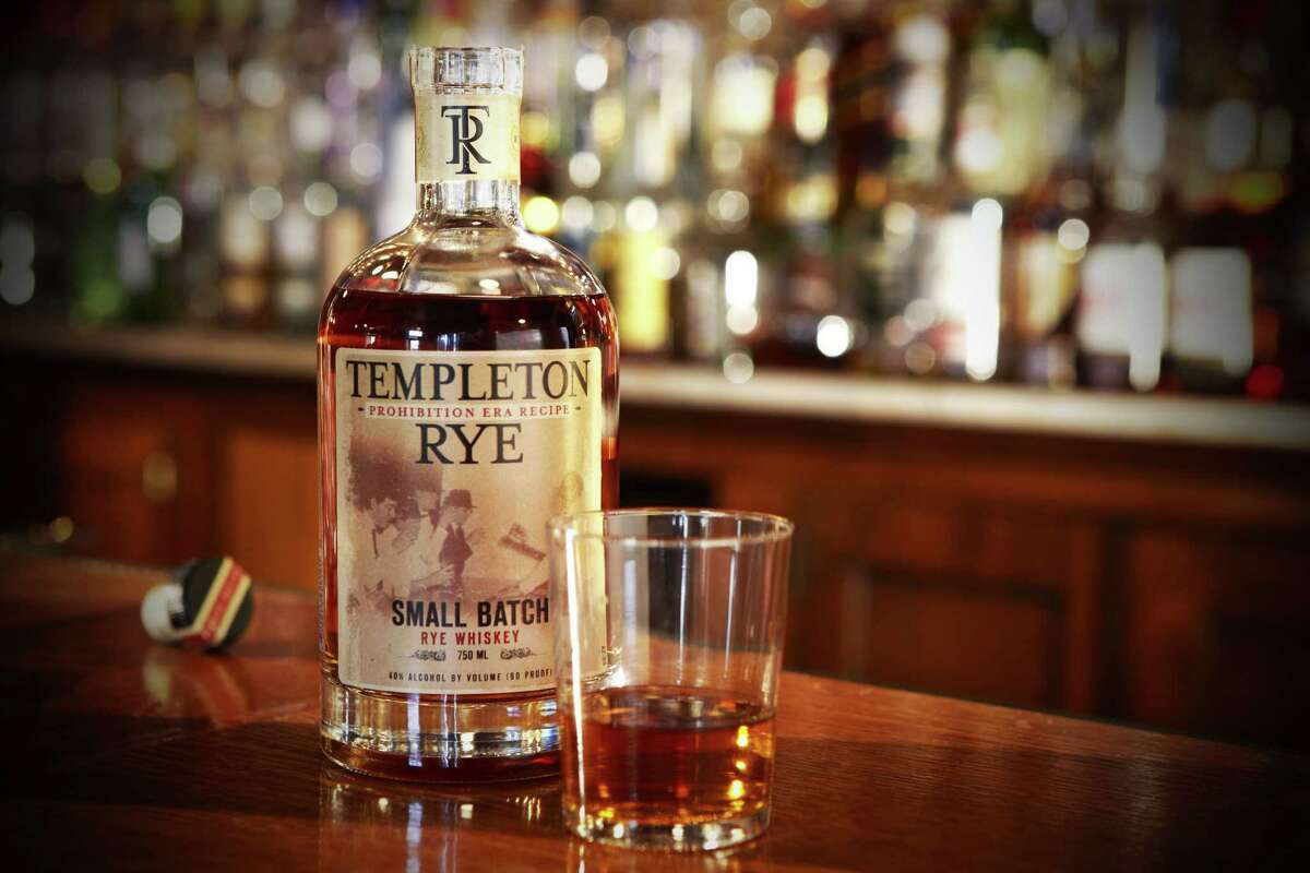 Templeton Rye whiskey from Iowa is known as Al Capone's whiskey.