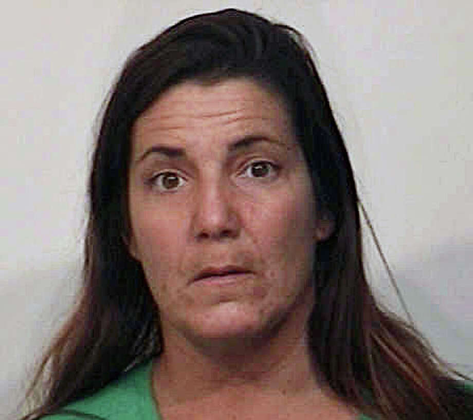 Kristin McCann, 39, of Milford, was charged with shoplifting. Photo: Contributed Photo