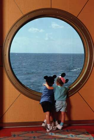 Kids at Porthole MAGICAL MEMORIES Disney Cruise Line offers guests an exciting way to vacation with Disney. The Disney Magic sails on seven-night Caribbean cruises, while its sister ship, the Disney Wonder, takes guests on three- and four-night cruises to the Bahamas. The most magical ships afloat, Disney Cruise Line offers world-class entertainment, clever programming for children and adults and unique dining experiences.. / handout