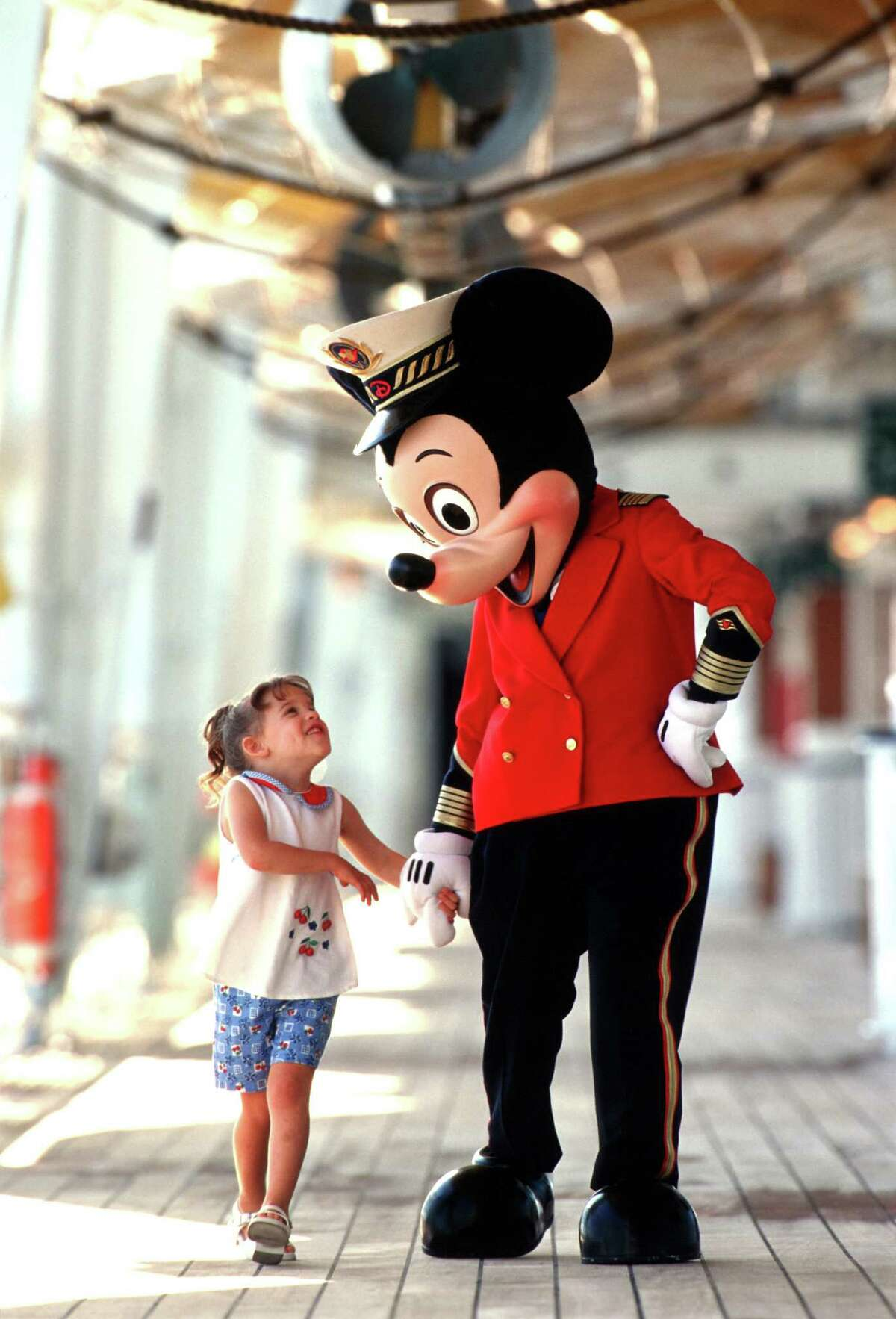 The Disney Cruise Line launched in 1998.