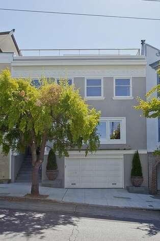This three-bedroom, 3.5-bath home is located in Cow Hollow. Photo: OpenHomesPhotography.com