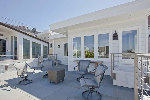 This deck provides great views of the city. Photo: OpenHomesPhotography.com