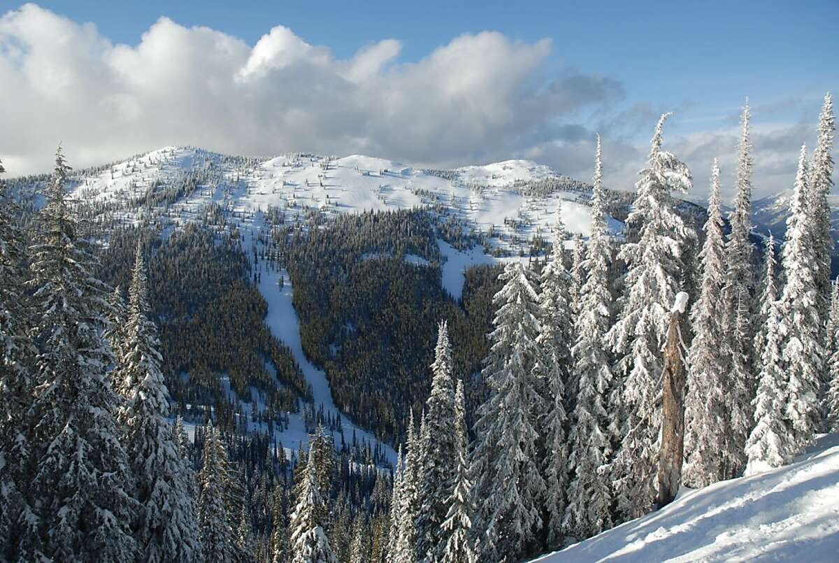 A 997-acre expansion of British Columbia's Red Mountain Resort is underway on Grey Mountain, which skiers can access this season by taking a nine-passenger snowmobile bus.