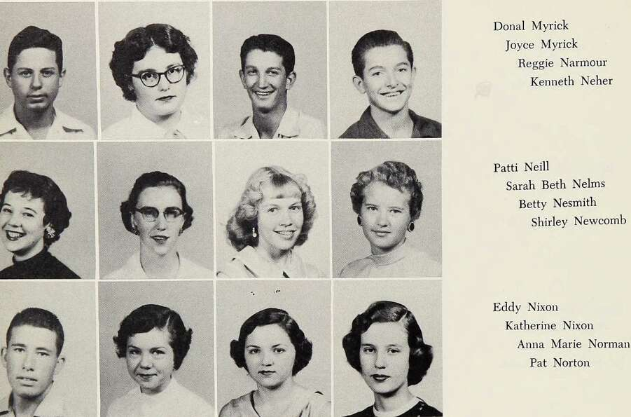 Bette Nesmith: Lubbock High School, 1955