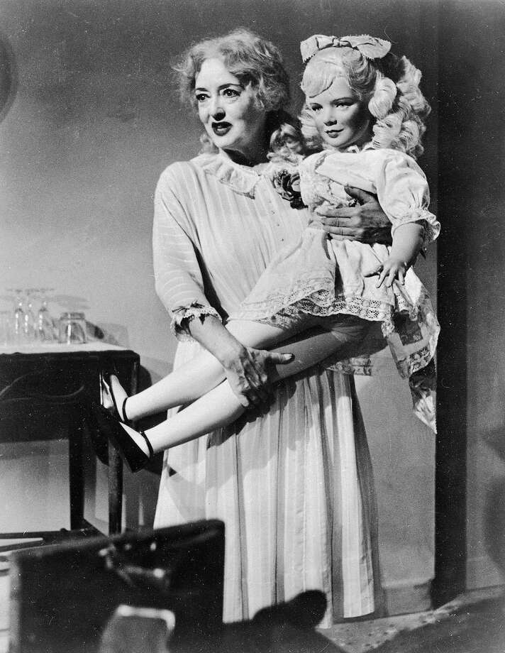 "Actress Bette Davis is shown in a scene from the film ""Whatever Happened To Baby Jane?"", 1963. (AP Photo) Photo: Associated Press, Associated Press 1963"