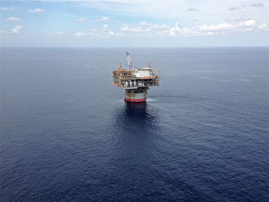 Chevron's Tahiti platform began production in May 2009. The field has estimated total recoverable resources of 400 to 500 million barels of oil and natural gas equivalent. (Simone Sebastian/Houston Chronicle)