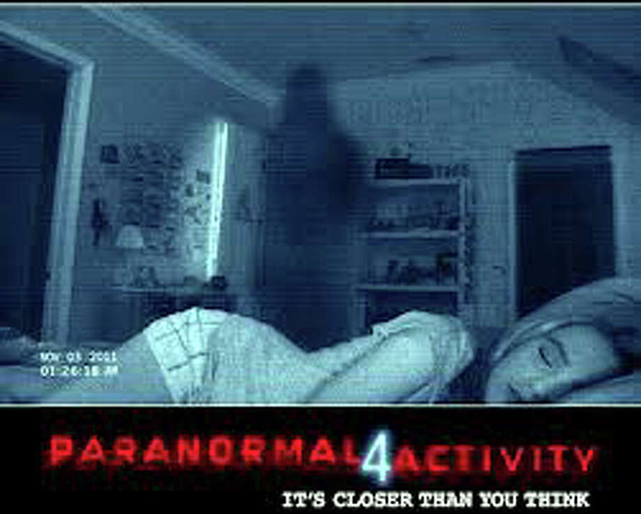 "The horror sequel, ""Paranormal Activity 4,"" is now playing in area movie theaters. Photo: Contributed Photo"