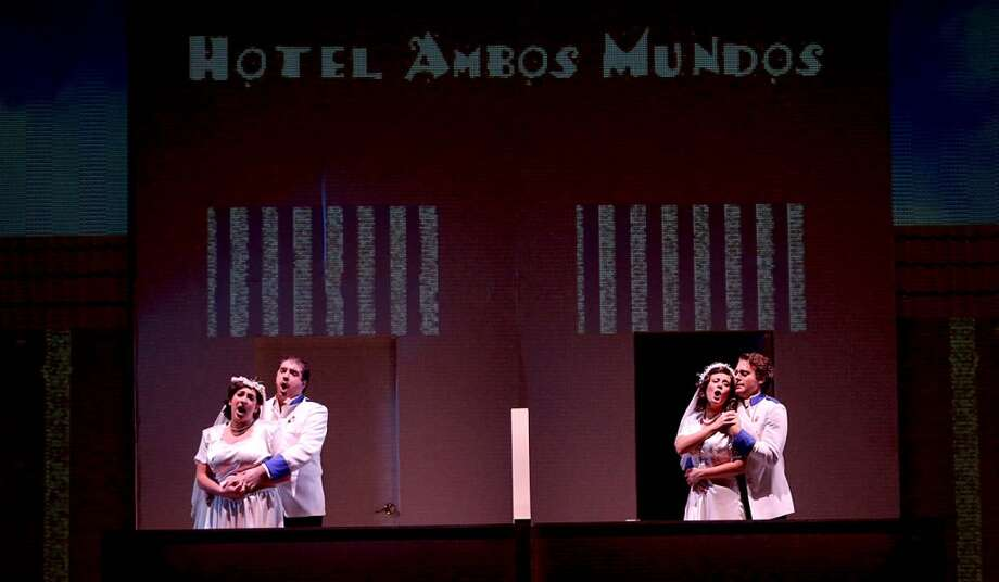 "UH's Moores Opera Center presents Daniel Catán's ""Salsipuedes, A Tale of Love, War, and Anchovies."" Performances run Oct. 26 - 29 in UH's Moores Opera House. For more details, visit http://www.music.uh.edu/opera/."