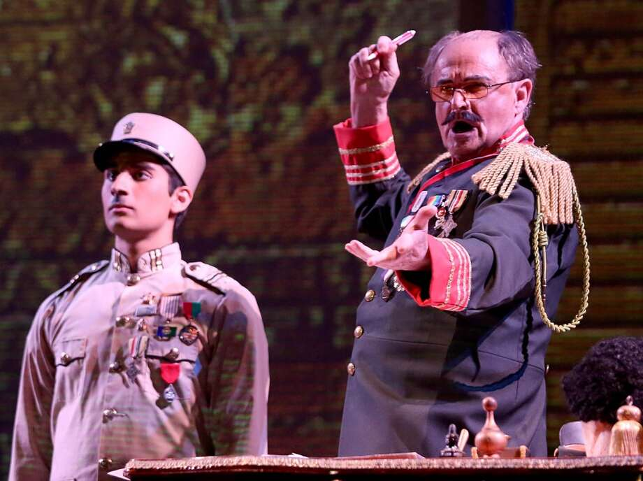 "UH's Moores Opera Center presents Daniel Catán's ""Salsipuedes, A Tale of Love, War, and Anchovies."" Performances run Oct. 26 - 29 in UH's Moores Opera House. For more details, visit http://www.music.uh.edu/opera/.  (Thomas Shea)"