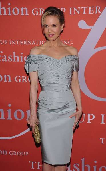 Renee Zellweger attends the 29th Annual Fashion Group International Night Of Stars at Cipriani Wall