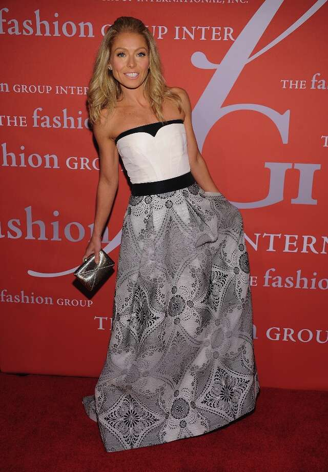 Kelly Ripa attends the 29th Annual Fashion Group International Night Of Stars at Cipriani Wall Street on October 25, 2012 in New York City. Photo: Dimitrios Kambouris, Getty Images / 2012 Getty Images
