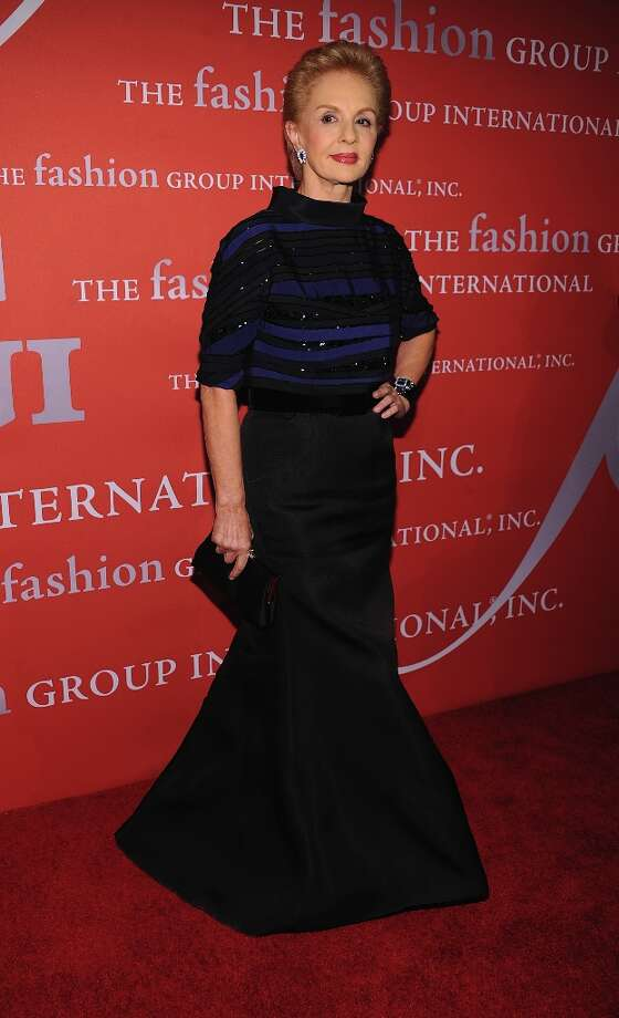 Carolina Herrera attends the 29th Annual Fashion Group International Night Of Stars at Cipriani Wall Street on October 25, 2012 in New York City. Photo: Dimitrios Kambouris, Getty Images / 2012 Getty Images
