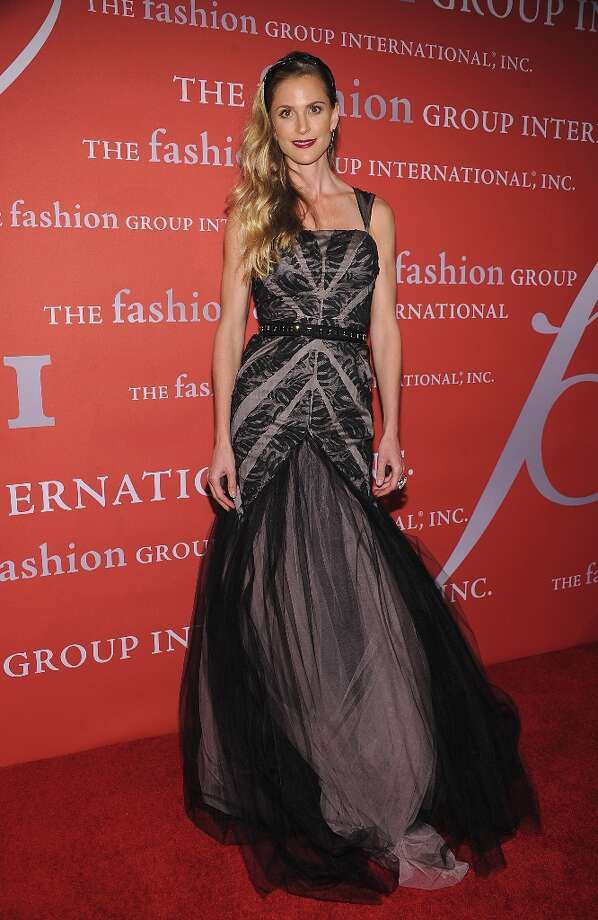 Annelise Peterson attends the 29th Annual Fashion Group International Night Of Stars at Cipriani Wall Street on October 25, 2012 in New York City. Photo: Dimitrios Kambouris, Getty Images / 2012 Getty Images
