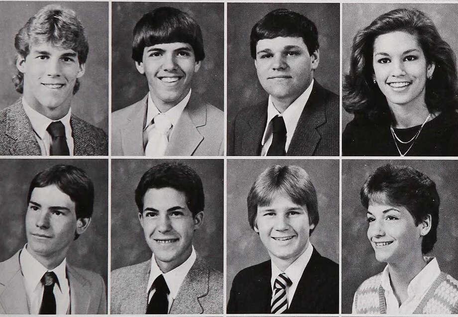 Cindy Crawford: DeKalb High School, 1984 Photo: Ancestry.com