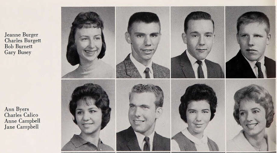 Gary Busey: Hale High School, 1962 Photo: Ancestry.com