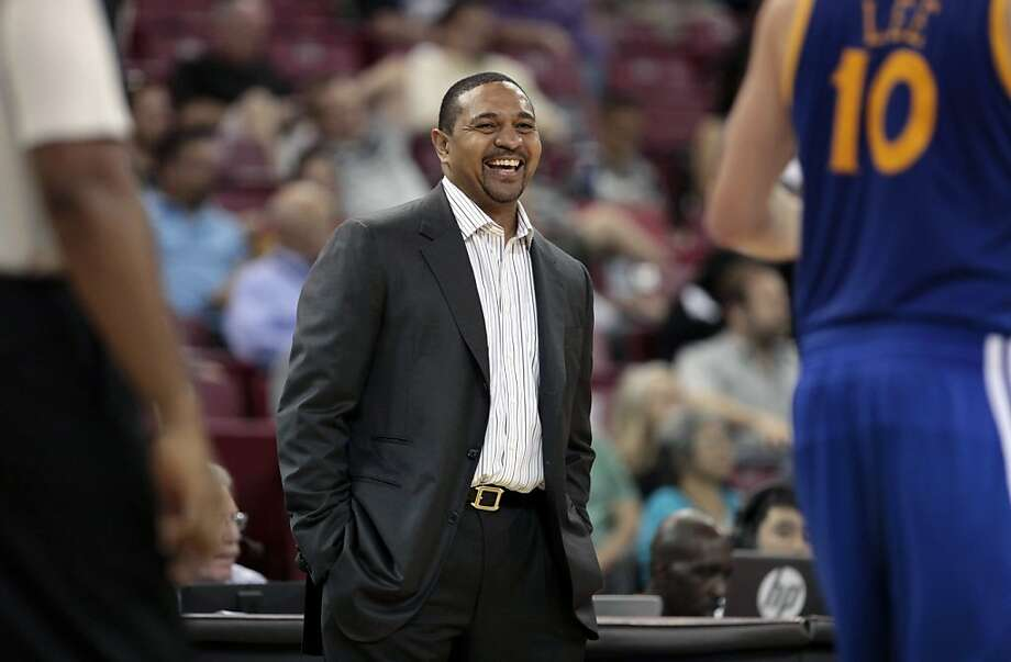 Warriors coach Mark Jackson figures to have a deep roster - with plenty of scoring options - at his disposal. Photo: Rich Pedroncelli, Associated Press