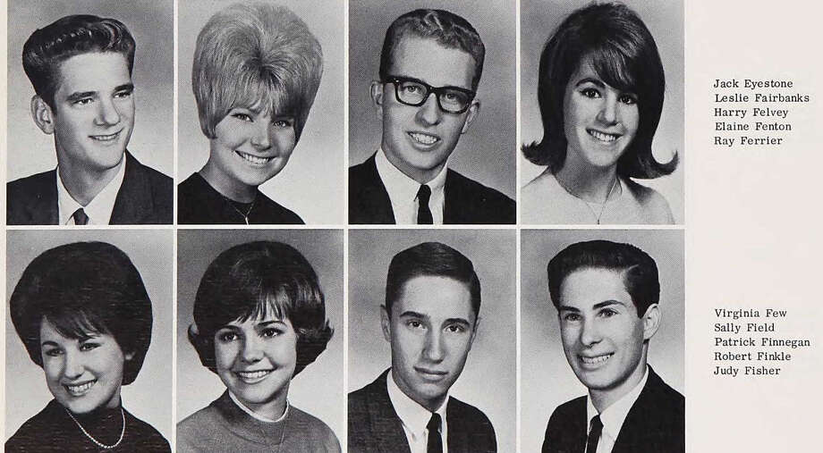 Sally Field: Birmingham High School, 1964 Photo: Ancestry.com