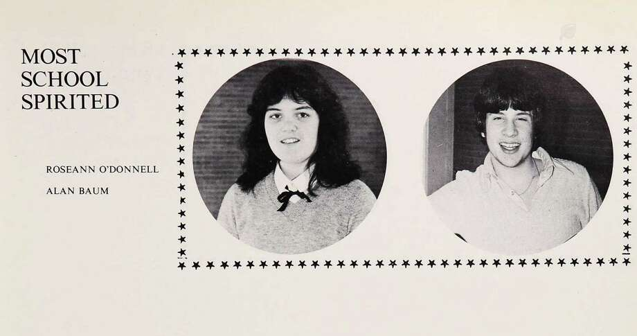 Rosie O'Donnell: Commack South High School, 1980 Photo: Ancestry.com