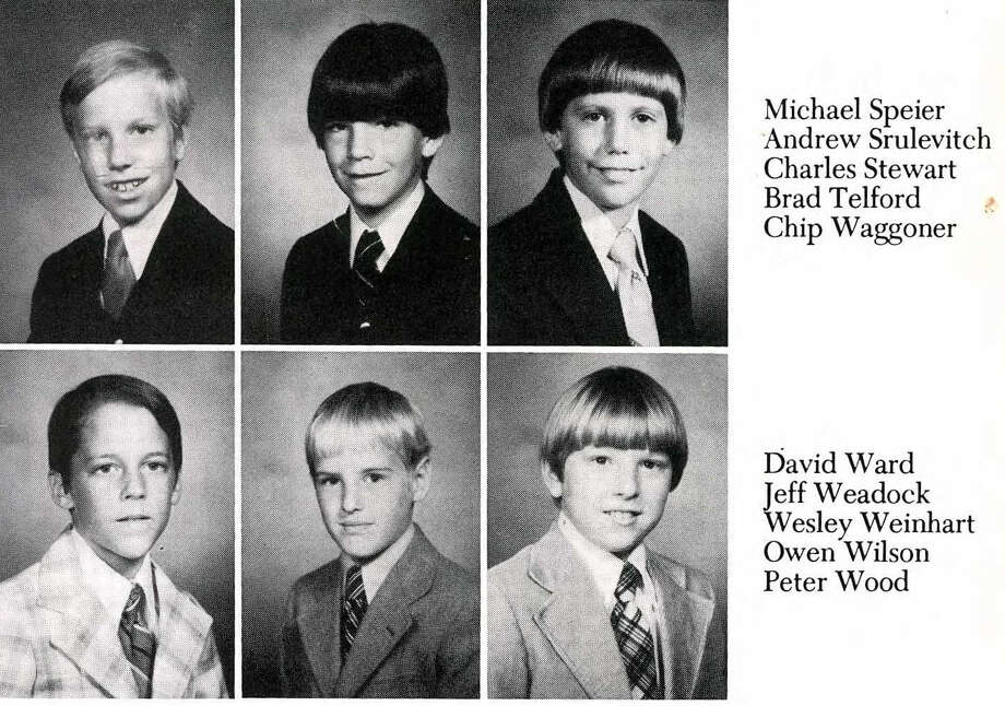 Owen Wilson: Saint Marks School of Texas, 1980 Photo: Ancestry.com
