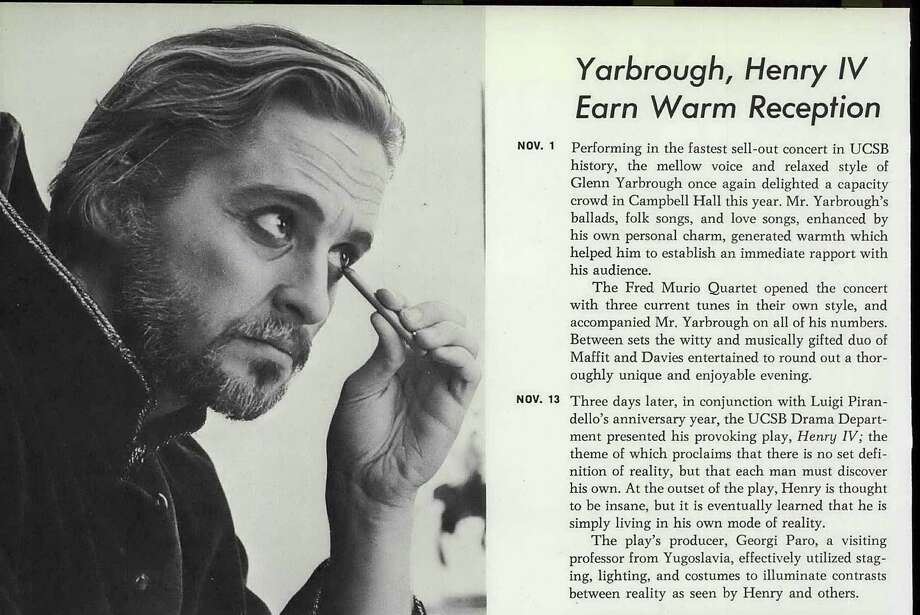Michael Douglas: University of California, Santa Barbara Photo: Ancestry.com