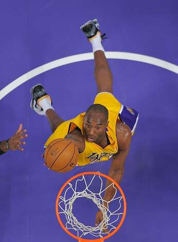 Kobe Bryant and the Lakers figure to thrive with the addition of center Dwight Howard and point guard Steve Nash. Photo: Mark J. Terrill, Associated Press