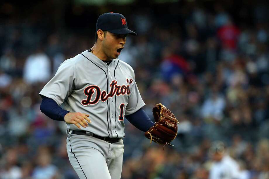 Anibal Sanchez, acquired from Miami before the trade deadline, is 1-1 with a 1.35 ERA in the playoffs. Photo: Alex Trautwig, Getty Images / Getty Images North America