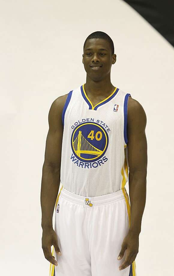 Rookie small forward Harrison Barnes averaged 17.1 points a game last season at North Carolina. Photo: Jeff Chiu, Associated Press