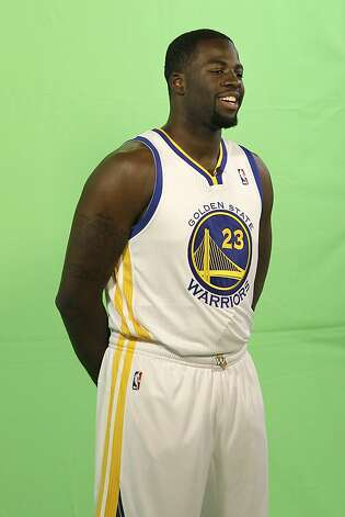 Draymond Green is a muscular frontcourt player who figures to see game action as a rookie. Photo: Jeff Chiu, Associated Press