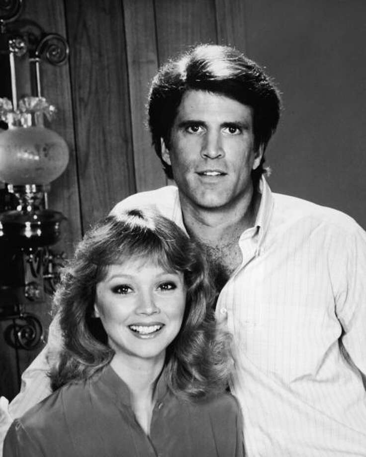 """""""Cheers"""" always felt like mostly a guys' show, but it starred Shelley Long, who won an Emmy for it. She left the show mid-way and was replaced with Kirstie Alley. Photo: NBC Television, . / Hulton Archive"""