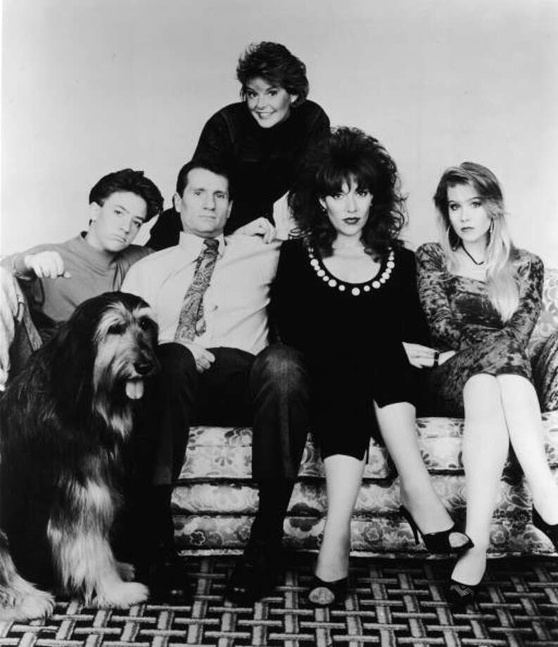 Katey Sagal (second from right) and Christina Applegate