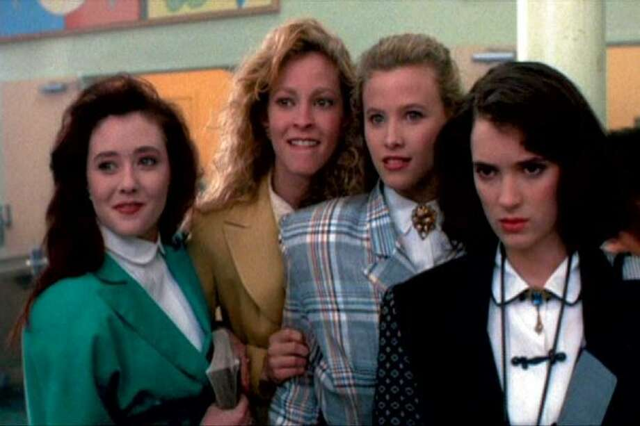 Winona Ryder (R) had some movie kid roles in the '80s, but it wasn't until the dark teen movie