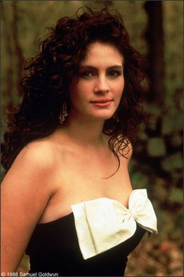 """Pretty Woman"" made Julia Roberts a huge star in 1990, but her fame was rising years before, with ""Mystic Pizza"" (pictured) in 1988 and ""Steel Magnolias"" in 1989.   Photo: ."