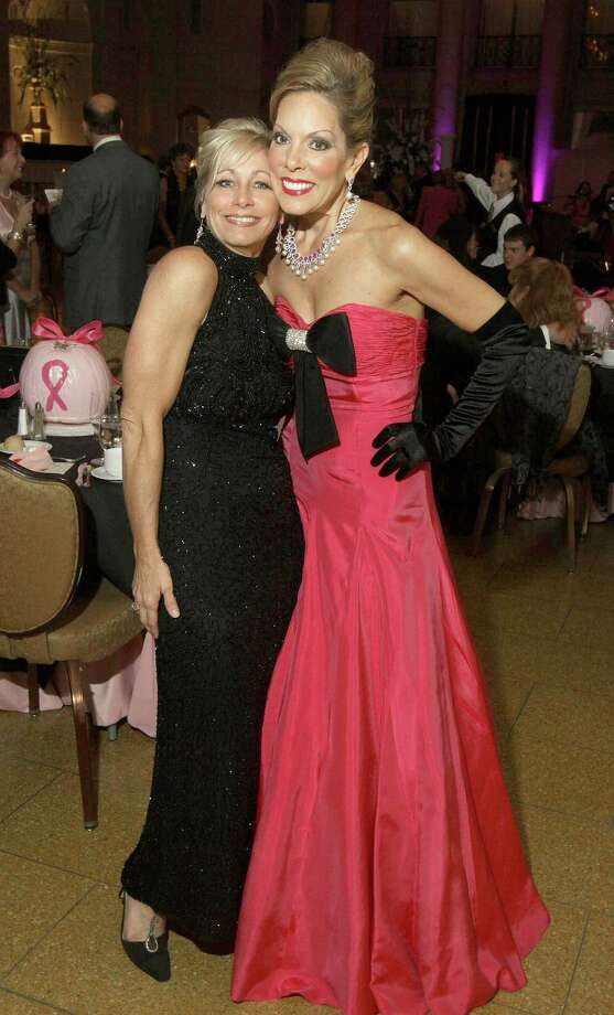 Were you Seen at the Eight Annual Pink Ball to benefit the To Life! breast cancer support organization at the Hall of Springs in Saratoga Springs on Friday, October 26, 2012? Photo: (Photo By Joe Putrock/Special To The Times Union)