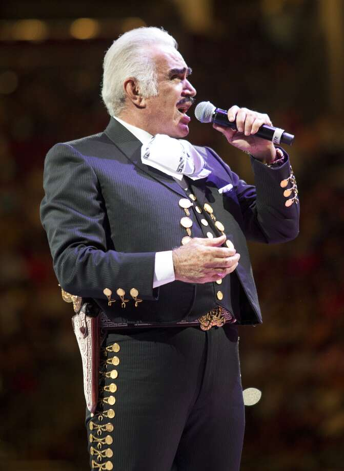 Fernandez, 72, is probably Mexico's most famous living singer.