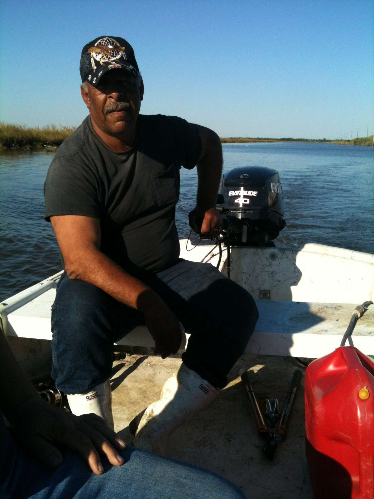 """Louisiana shrimper Maurice Phillips says his catch has plunged since the 2010 spill. """"The same thing happened in Alaska, and the people never got back right,"""" he says."""