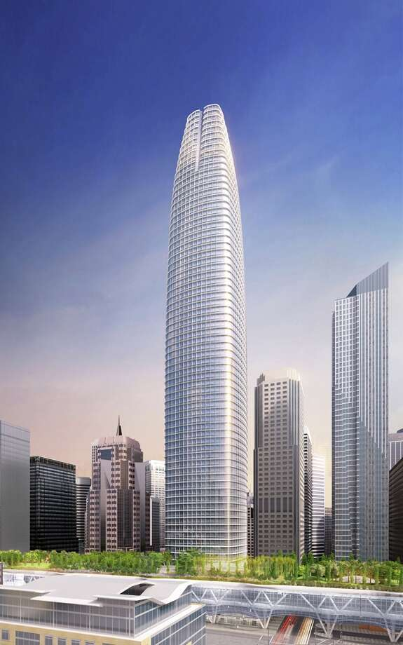 The Transbay Tower will have 61 stories and be 1,070 feet tall, a West Coast high. Photo: Hines
