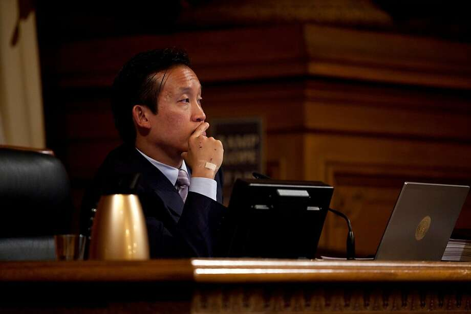 Board of Supervisors President David Chiu replaces the radical liberal tag with consensus-builder. Photo: Jason Henry, Special To The Chronicle