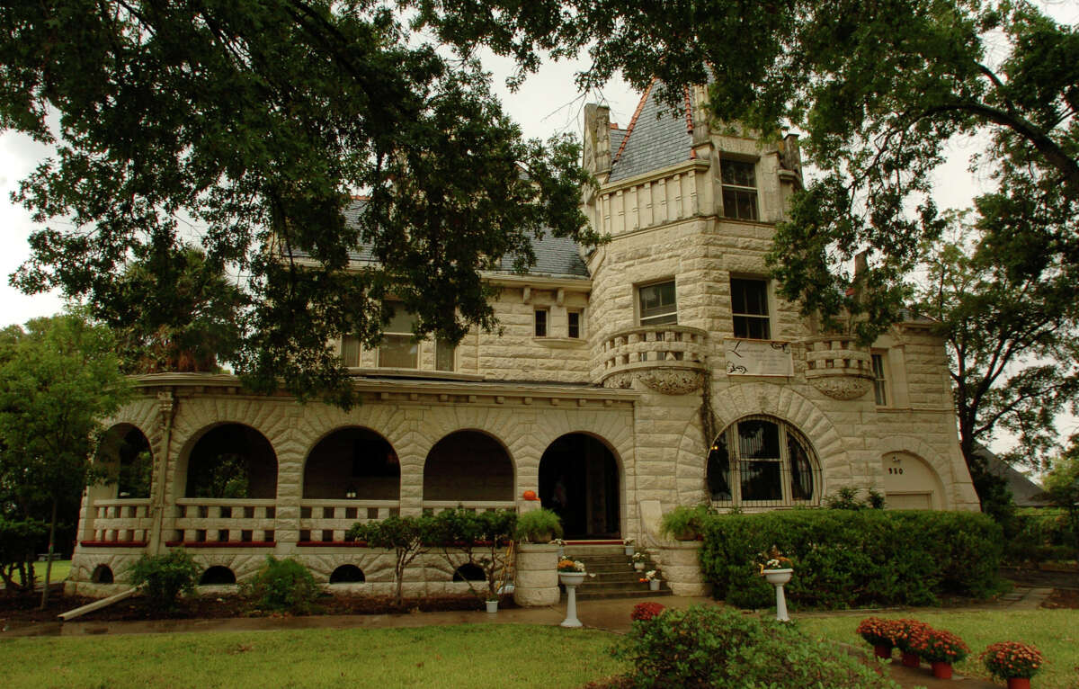 The Lambermont at 950 E. Grayson Street in San Antonio was built in 1894 as the home of Edwin Holland Terrell, a lawyer and statesman. Oct. 15, 2008.