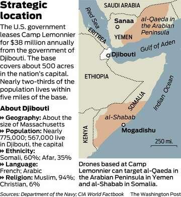 Remote U S  base in Djibouti at core of secret drone operations