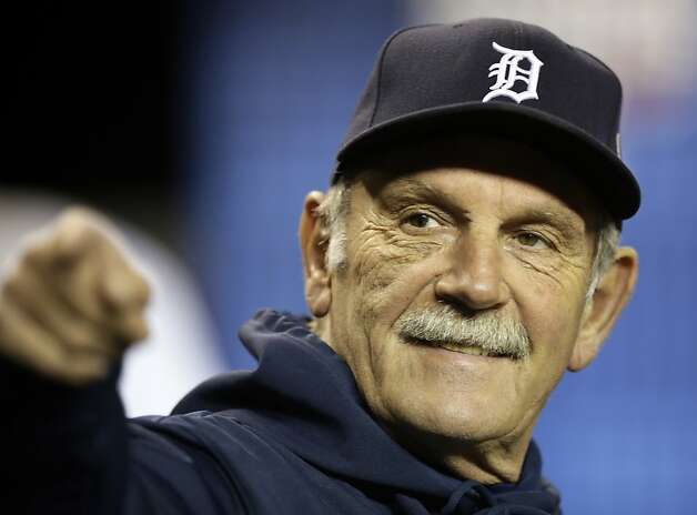 Jim Leyland's 1,676 wins over 22 regular seasons rank No. 1 among active managers and put him 15th on the all-time list. Photo: Matt Slocum, Associated Press