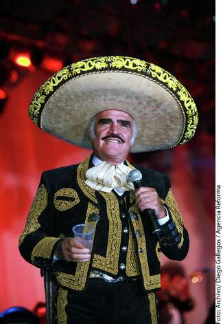 Legendary ranchera singer Vicente Fernandez performed in the Alamo City on Saturday night.