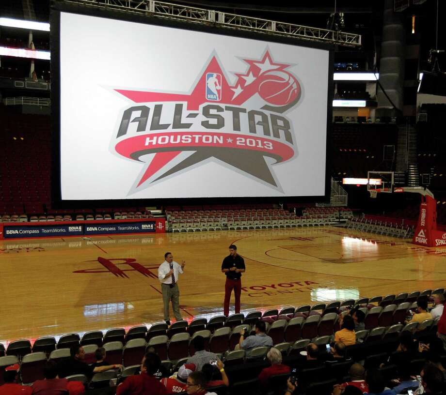 Houston will host the NBA's All-Star weekend for the third time, and the second since 2006. Photo: James Nielsen, Staff / © Houston Chronicle 2012
