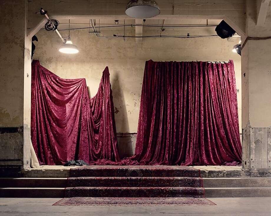 Red Curtain Photo: Elizabeth Moran