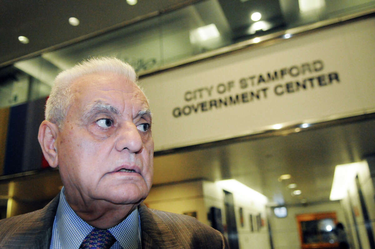 Frank Vartuli at the Government Center in Stamford, Conn., Oct. 25, 2012. Vartuli has spent the last several years unsuccessfully pursuing a dispute over his property assessment. His journey has included hundreds of city hall meetings into a quest for access to information from city government.