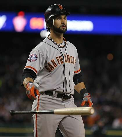 Angel Pagan will try to prove worthy of his big contract. Photo: Lance Iversen, The Chronicle